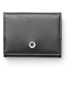 Graf-von-Faber-Castell - Coin purse small Saffiano black